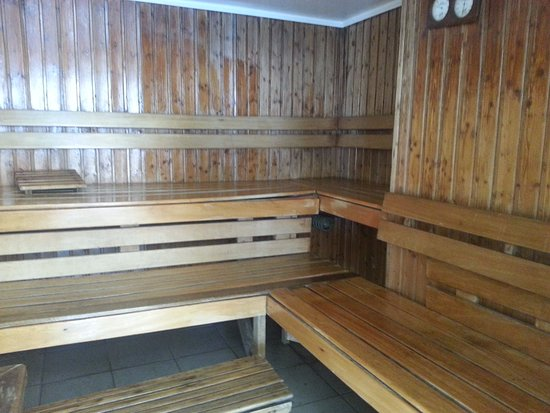 Baywatch Tower Manila: steamed sauna