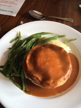 Clavering, UK: Steak Pudding