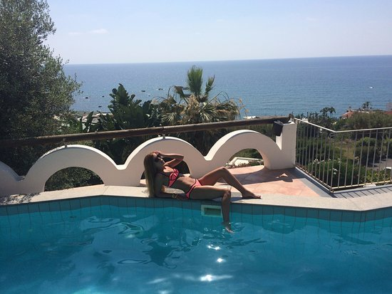 Hotel Citara : Бассейн на крыше