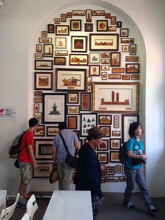Kuala Lumpur City Gallery : Gift shop