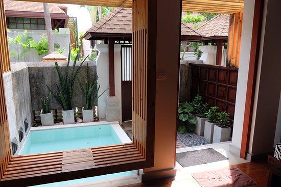 Pavilion Samui Villas & Resort : Plunge pool room