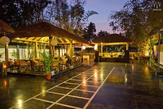 Anjuna, Indien: Evening view 1