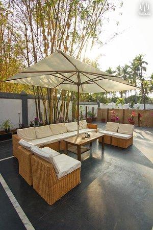 Anjuna, Inde : Lounge area 2