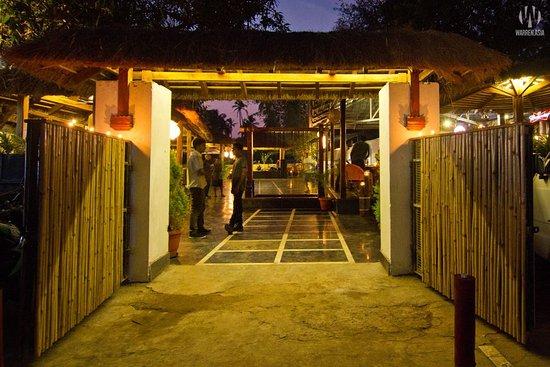 Anjuna, Indien: Corridor view
