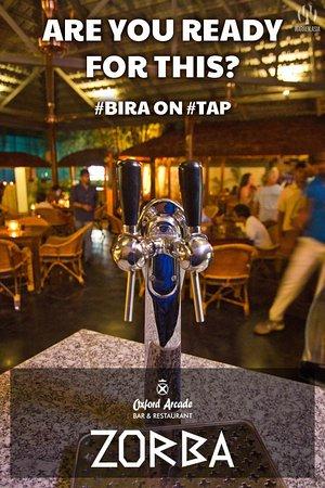 Anjuna, Inde : Tap Beer