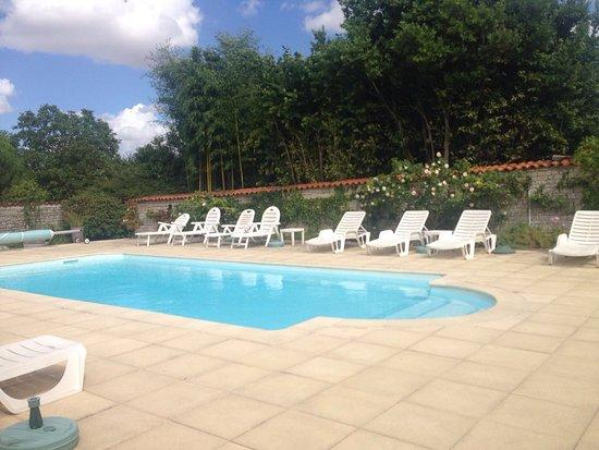 Louzignac, France : The Pool