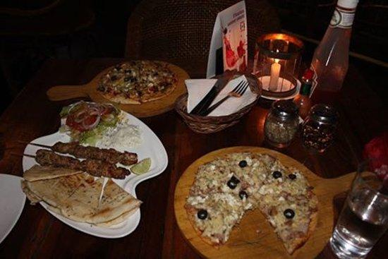 Anjuna, Inde : Pizza 1