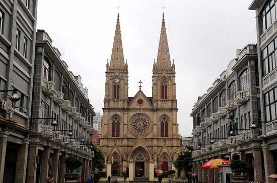 Sacred Heart Cathedral : View of the Church
