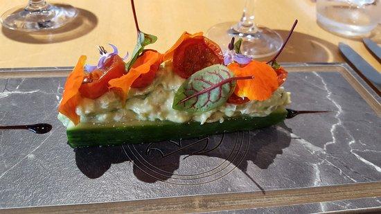 Аарберг, Швейцария: Vegane Vorspeise 2