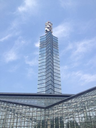 Building in the north is Michi no Eki Akita Port
