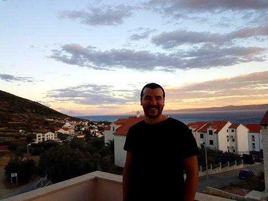Bol Apartments Gospojica : Day or night... wonderful view!
