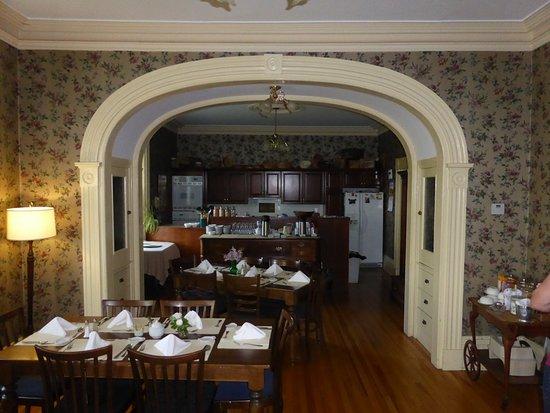 Homeport Historic B&B / Inn c 1858 : hier wurde das Frühstück serviert