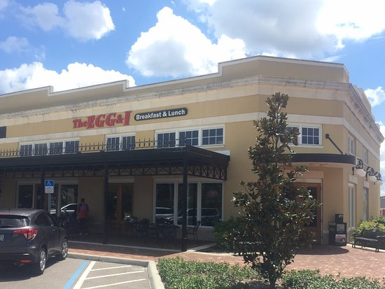 The Egg I Restaurant With Dining Patio Riverview Fl