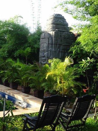 Lotus Lodge: Déco interieure magnifique