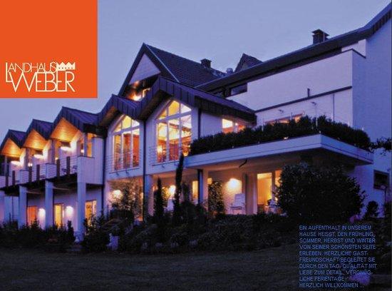 Landhaus Weber: Das Haus