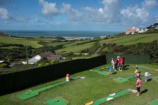 Woolacombe Sands Holiday Park : Crazy Golf