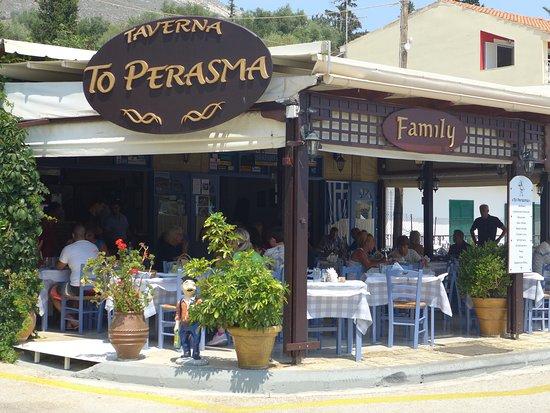 To Perasma in Agia Efemia, Kefalonia.