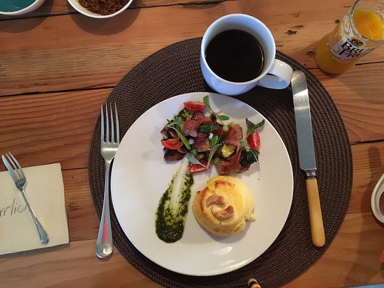 ah! Guest House: A delicious piece of breakfast