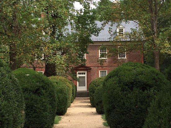 Charles City, Wirginia: Berkeley Plantation entrance
