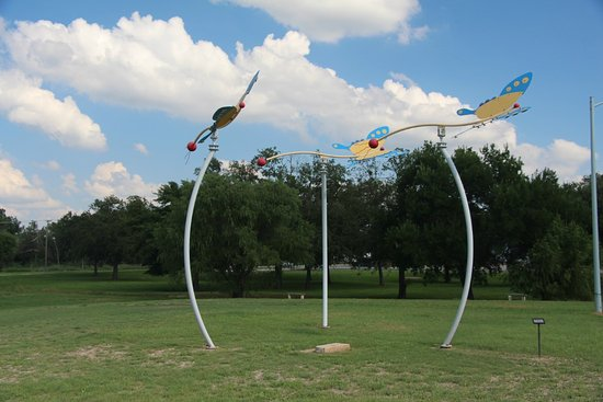 Lampasas, Teksas: Part of an impressive collection for a small town sculpture park