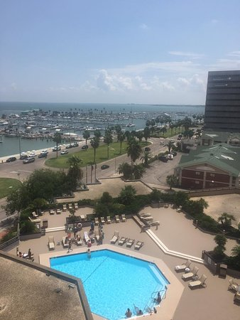 Great hotel right across from the Corpus Christi bay