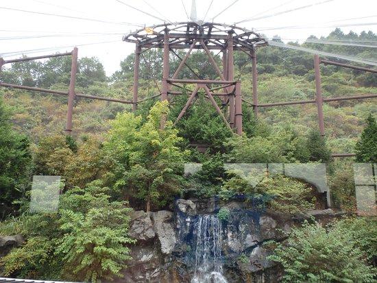 Resto Park Rinrin : 建物内から見える庭園の景色