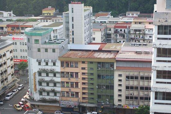 Hyatt Regency Kinabalu: The city view