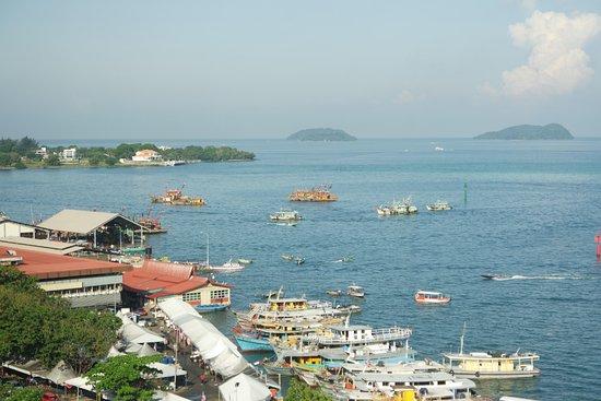 Hyatt Regency Kinabalu: The sea view