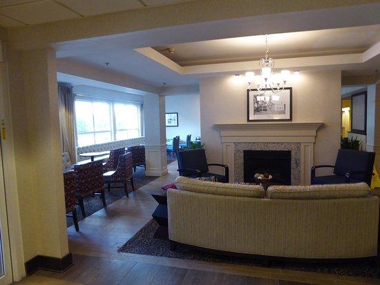 Hampton Inn Concord/Bow: Entrance lobby