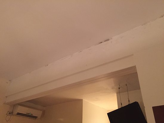 Blue Soho Hotel: We booked this room last minute as our flights were cancelled! The room was absolutely terrible
