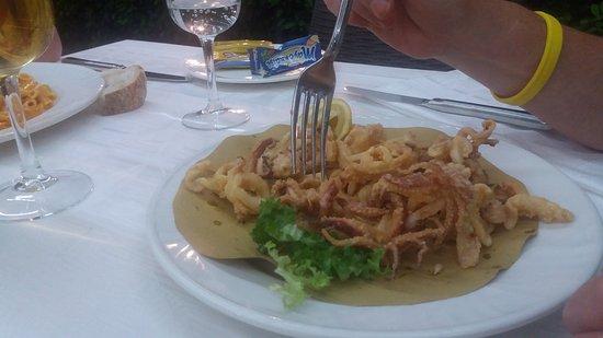 Cervaro, Italia: Calamari