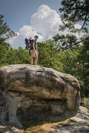 Sainte Genevieve, MO: Climbing :)
