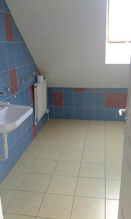 Agnita, Romania: Avem patru camere cu pat matrimonial şi o cameră cu trei paturi.