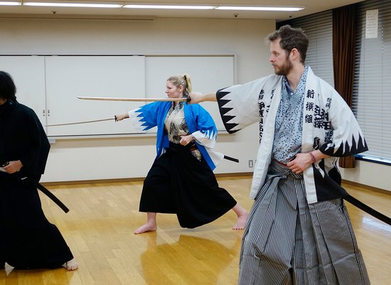 Katana) sword fighting with my pregnant girlfriend