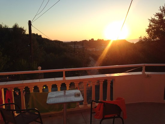 Zante Pantheon Hotel: tramonto da sogno
