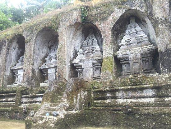 Tegalalang, อินโดนีเซีย: Temple de Gunung Kawi