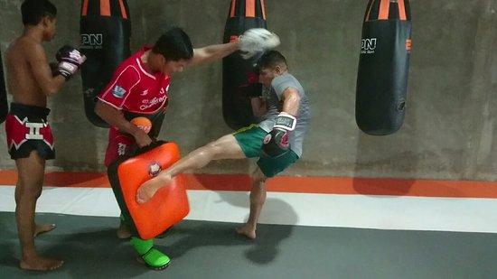 Cherngtalay, Tailandia: Sitsongpeenong Muay Thai Training Phuket