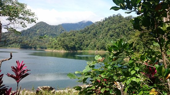 Twin Lakes of Balinsasayao & Danao: View from Hike Trail