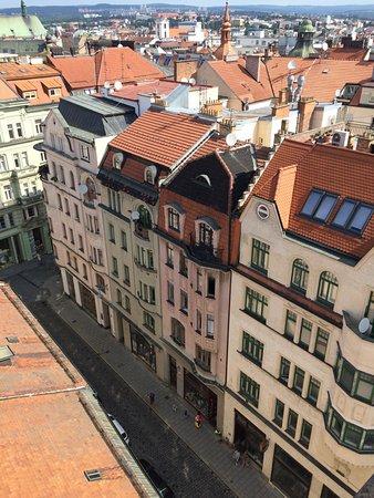 Brno, República Checa: Вид с башни на город