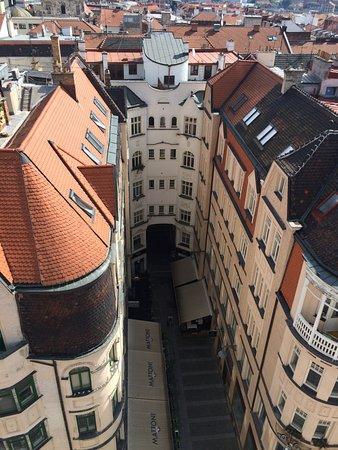 Brno, Czech Republic: Вид с башни на город