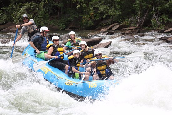 Ducktown, TN: Prepare to get wet!