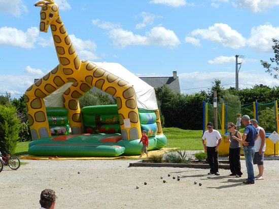 Camping le Rivage Quettehou Manche Normandie