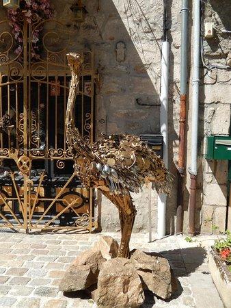 La Chaise-Dieu, Fransa: Entrée du cabinet de curiosités