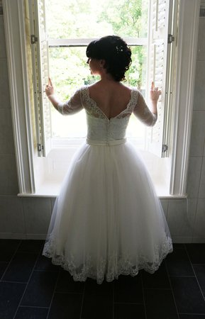 Sparth House Hotel: Fantastic windows for you wedding photographs