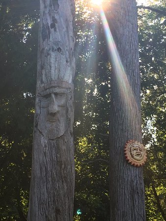 Robertsdale, AL: Tree Decor on Campgrounds