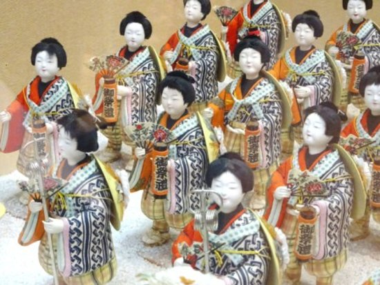 Shitamachi Museum: samurai dolls