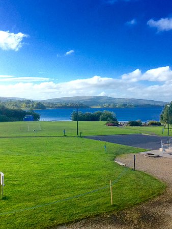 Drumshanbo, Irland: View from the balcony