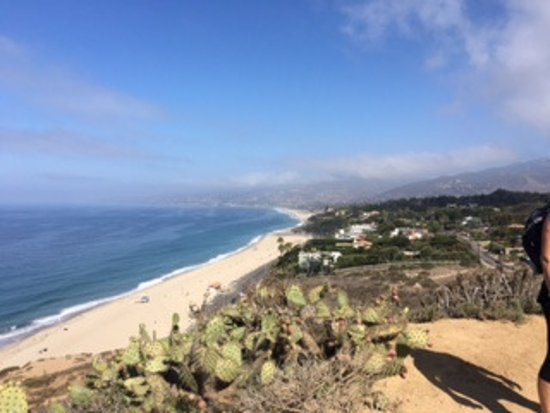 Wellfit Malibu: View from one of the hikes along the mountainside overlooking the Pacific Ocean.