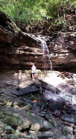 Mullens, Virginia Occidental: Upper falls