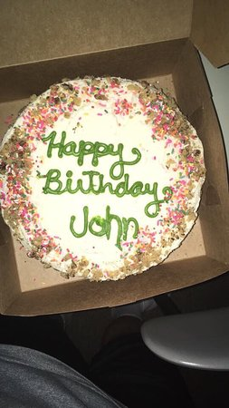 Beth's Kitchen Cafe: Birthday carrot cake